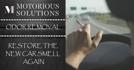 Car odor removal Detail